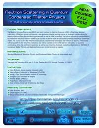 Quantum Condensed Matter Physics