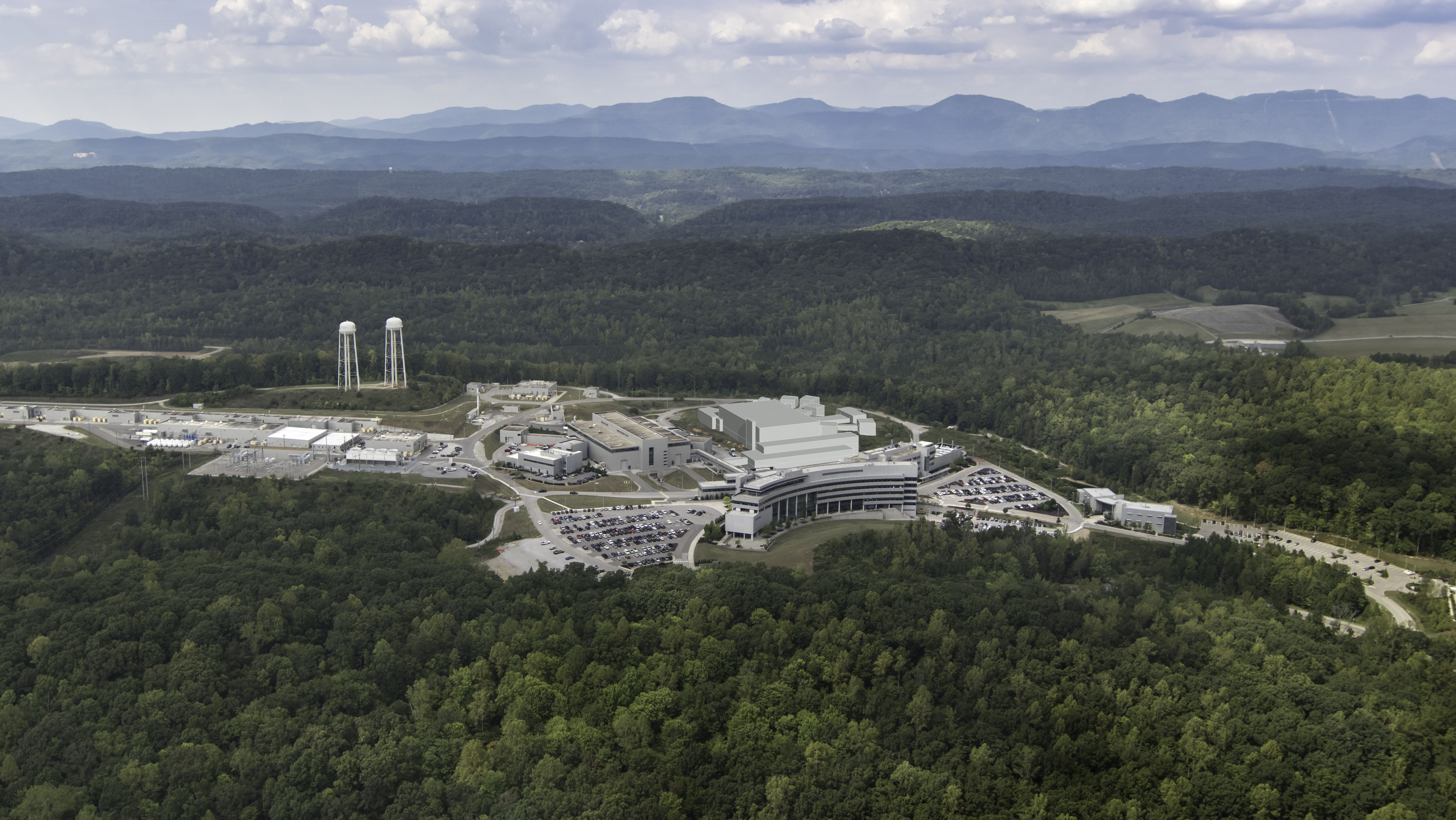 ORNL's Second Target Station (STS) will be located adjacent to the SNS First Target Station