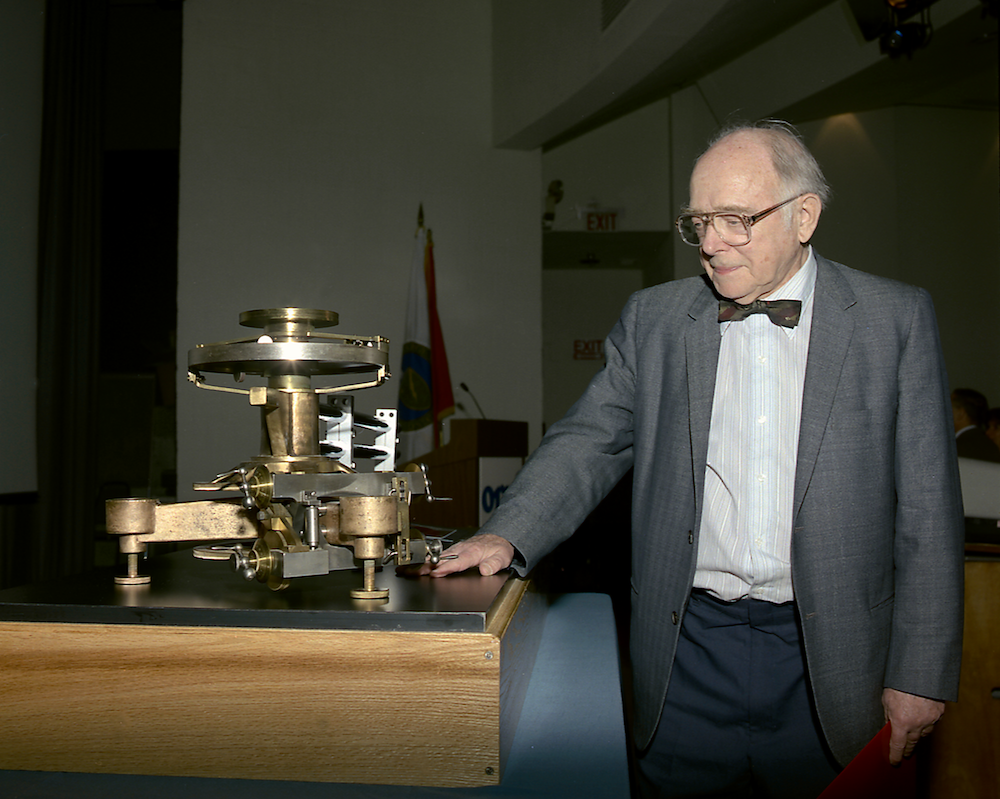 Clifford Shull was awarded half of the 1994 Nobel Prize in Physics
