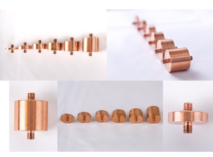 Copper adaptors for 3He Insert and Dilution Refrigeration Experiments ​