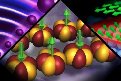 The theories that led to physicists Thouless, Haldane, and Kosterlitz being awarded the Nobel Prize in physics, are guiding today's quantum physicists at ORNL in their search for materials of the future. (Image credit: ORNL/Jill Hemman)