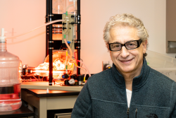 John Katsaras' advances in technique, instrument and sample development for neutron and x-ray scattering have helped answer science questions about biological membranes. Credit: Carlos Jones, Oak Ridge National Laboratory, U.S. Dept. of Energy