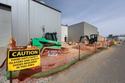Construction has started for the Proton Power Upgrade to double the power of the linear accelerator to 2.8 megawatts. Credit: ORNL/Genevieve Martin