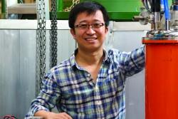 Quantum scientist Huibo Cao.