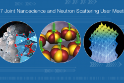 The 2017 Joint Nanoscience and Neutron Scattering User Meeting will take place August 1–2, 2017, at ORNL, with additional workshops and tutorials held July 31 and August 3–4. Registration is open through July 17.