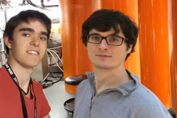 Michael Waddell and Patrick Nave took the challenge of ORNL's Challenge Program this summer head-on. Michael, from Columbia University, and Patrick, from Florida State University, ended their internships last week with both national laboratory experience and successful research projects.