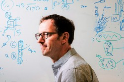 Associate Professor Maik Lang, nuclear engineering researcher at the University of Tennessee, Knoxville (credit: UTK)