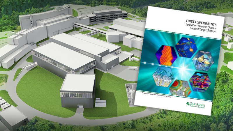 The DOE has approved the release of a report on the neutron research capabilities planned for the Second Target Station to be built at Oak Ridge National Laboratory's Spallation Neutron Source.