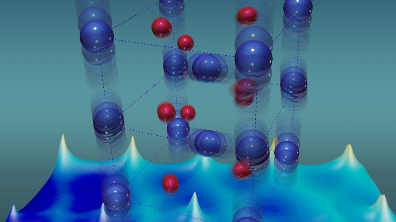 Good vibrations give electrons excitations that rock an insulator to go metallic