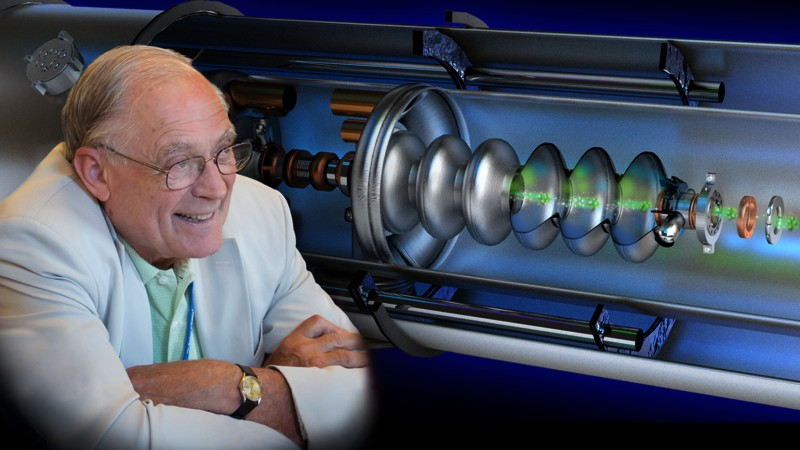 """John M. """"Jack"""" Carpenter, an American nuclear engineer who pioneered using accelerator-based pulsed neutrons for scientific research, died on March 10. He was 84. Jack loved cooking and sharing meals with friends, traveling, music, and the beauty of numbers in everyday life. (Credit: ORNL/Jill Hemman, Genevieve Martin)"""