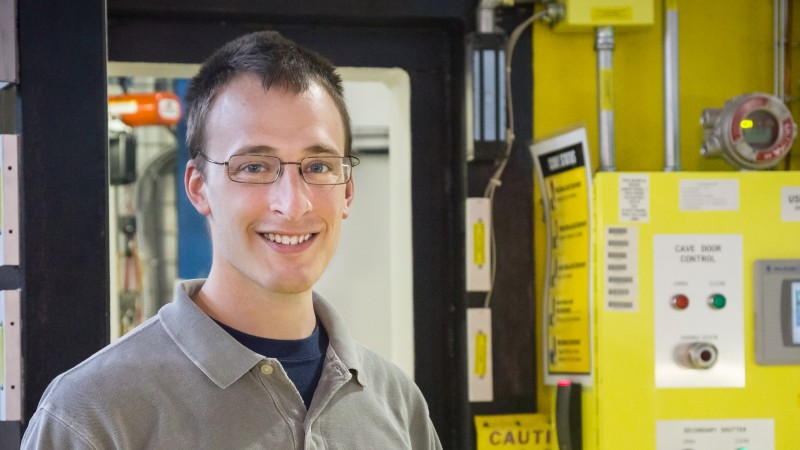 The Jerome B. Cohen Award was given to SNS graduate student, Peter Metz, for outstanding student achievement in the broad field of X-ray analysis.