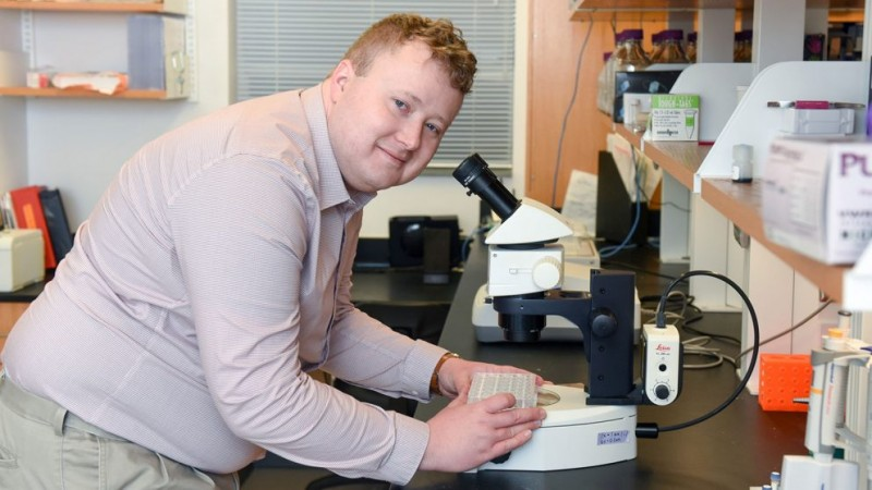 Former ORNL GO! student Brad O'Dell is among NC State University's December graduates. O'Dell studied under ORNL's Flora Meilleur in the Neutron Sciences Directorate for 5 years. He received the UT-Battelle graduate student award in 2016.