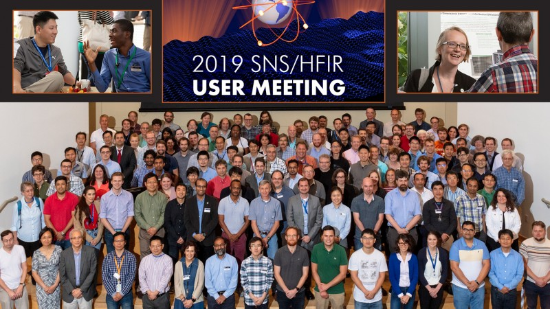 The 2019 Neutron Scattering User Meeting was held at ORNL, June 4th-5th, and attended by more than 250 members of the global neutron research community. (Credit: ORNL/Megan Jamerson, Carlos Jones)