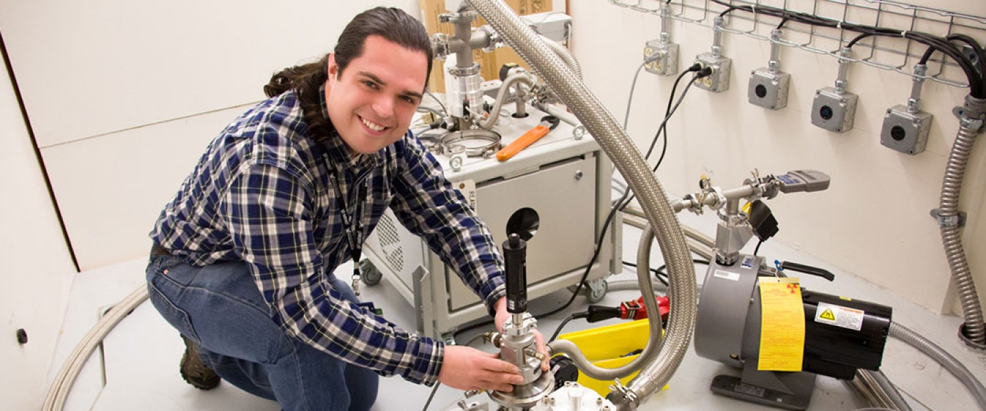 First User at Vibrational Spectrometer (VISION)