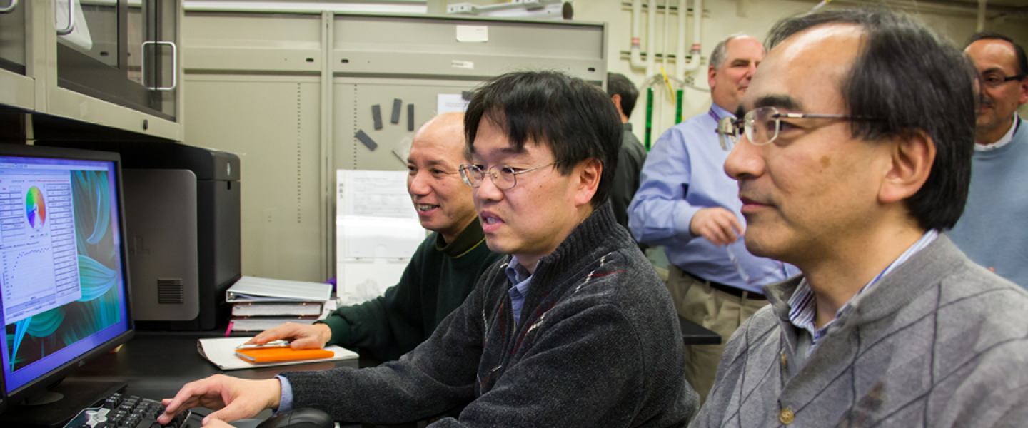 Users at Polarized Triple-Axis Spectrometer (HB-1)