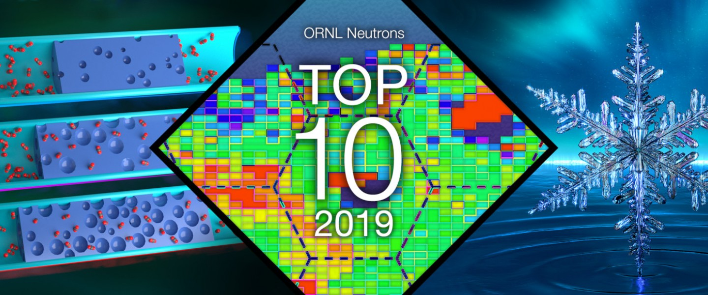 ORNL's Top 10 neutron scattering achievements of 2019