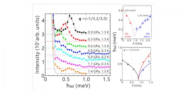 Novel Excitations Near Quantum Criticality in CsFeCl3​