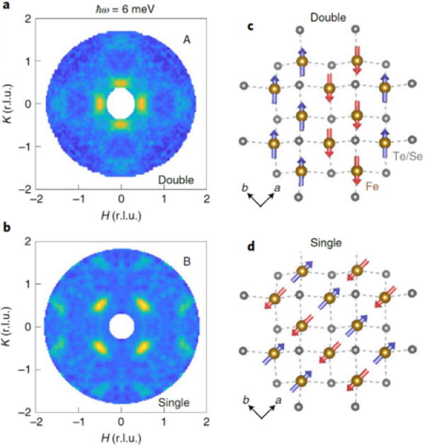 Magnetic correlations probed by polarized neutron scattering