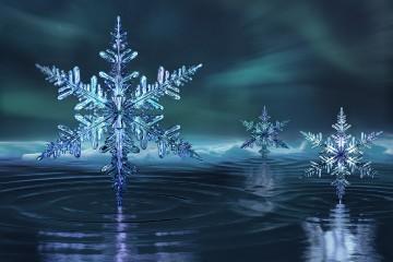 Crystalline ice phases