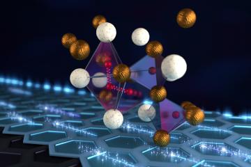 Smaller spacings between the atoms in a metal hydride