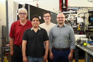 ORNL and Eck Industries R&D staff are using the VULCAN instrument at the Spallation Neutron Source t