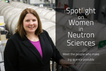 Lisa Debeer-Schmitt is an instrument scientist at ORNL's High Flux Isotope Reactor (HFIR). During graduate school, Lisa performed her first neutron scattering experiment at the Institut Laue-Langevin in France and was enthralled with the technique and its potential. She was later given an opportunity to work on GP-SANS at HFIR, and she has never looked back. (Credit: ORNL/Genevieve Martin)