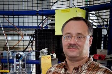 Eugene Mamontov, lead instrument scientist on the BASIS Backscattering Spectrometer